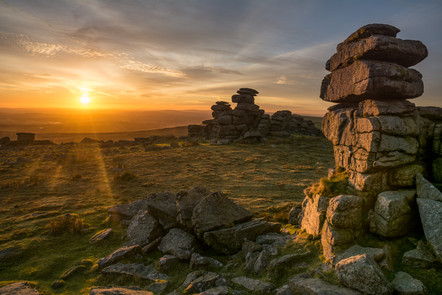 Great Staple Tor Sunset