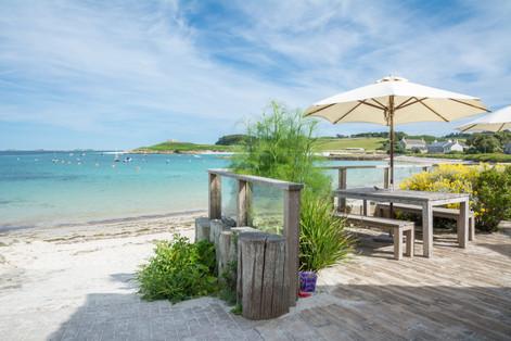 Ruin Beach Cafe, Tresco