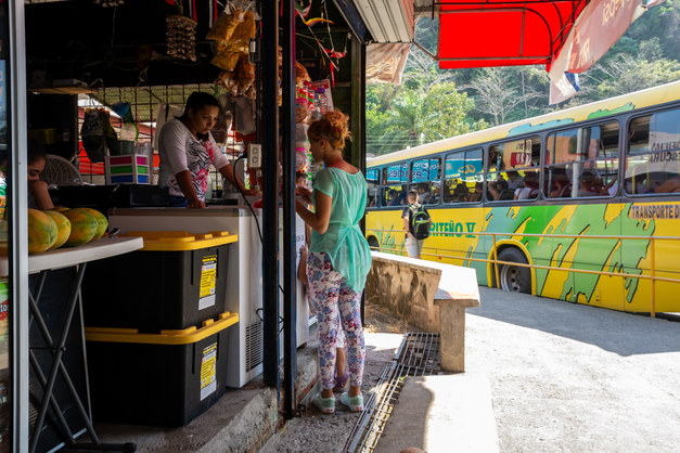 Bus Station at Quepos