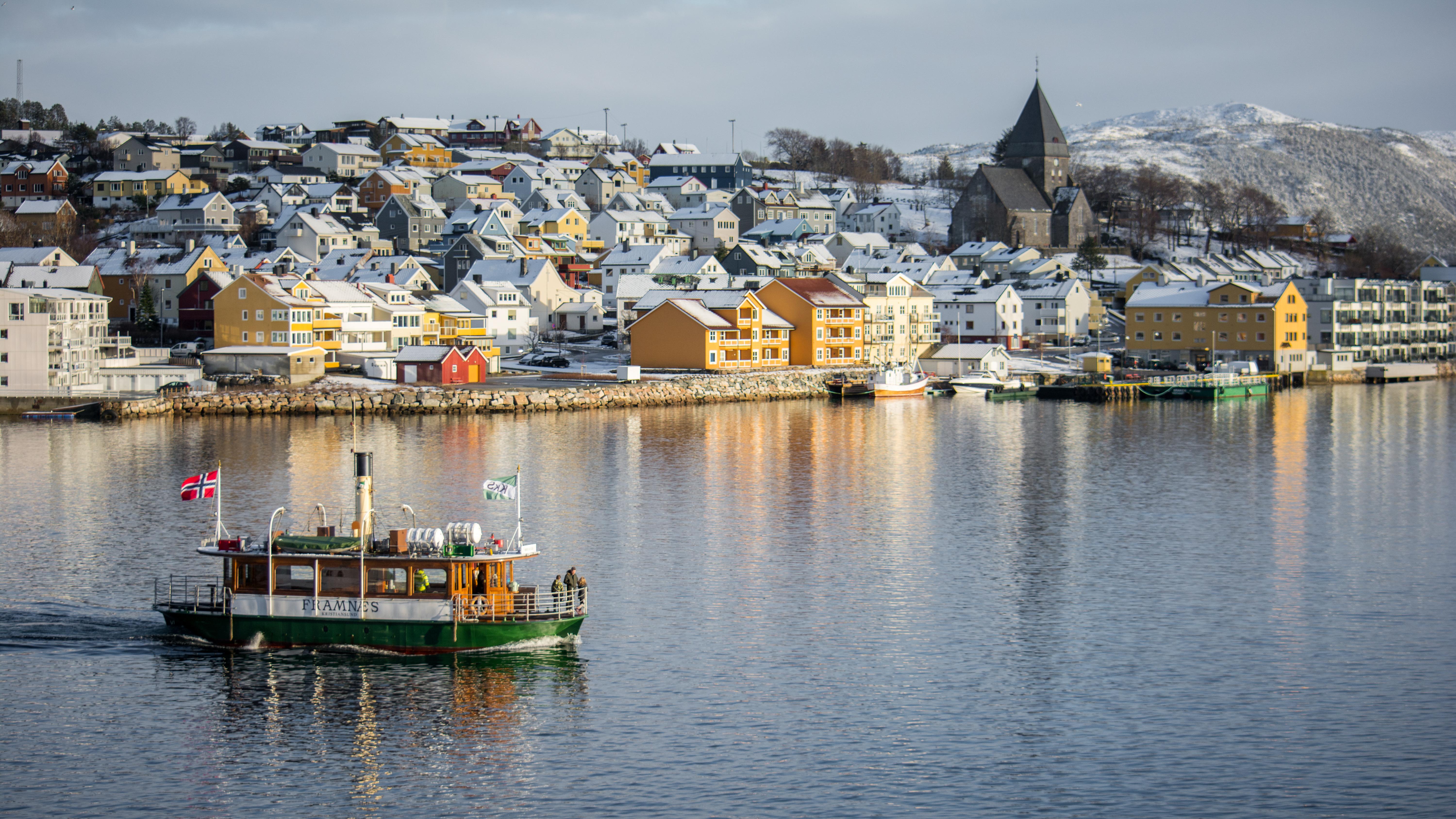 Ferry at Kristiansund