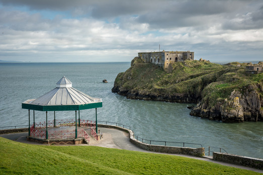 Bandstand and Fort