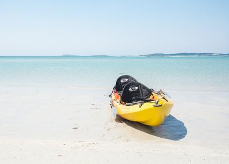 Kayaking St Martin's Style