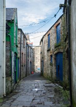 Back Street in Tenby
