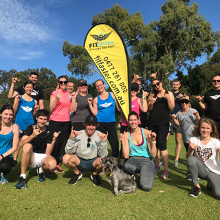 Charity bootcamp for Ocean Heroes