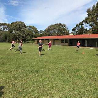 Butler's Reserve Fitness Test