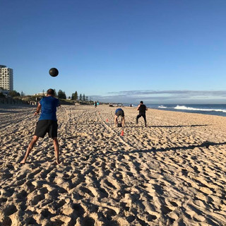 Beach Training