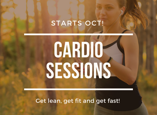 FFP Cardio sessions start 12th Oct