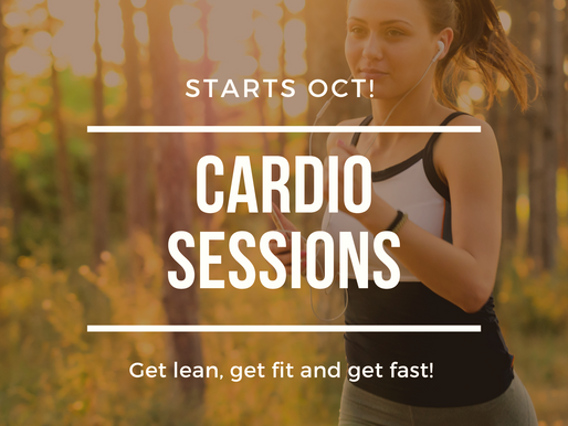 FFP Cardio sessions start 12th Oct