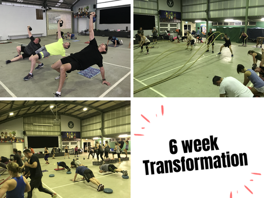 6 week Transformation Challenge starts 14th Oct!