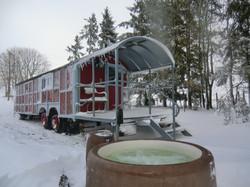 Wagon des Estives
