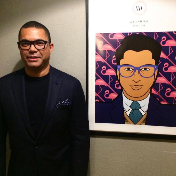 David M Watts, Editor In Chief of Men's Lifetstyle Magazine, Wattswhat.