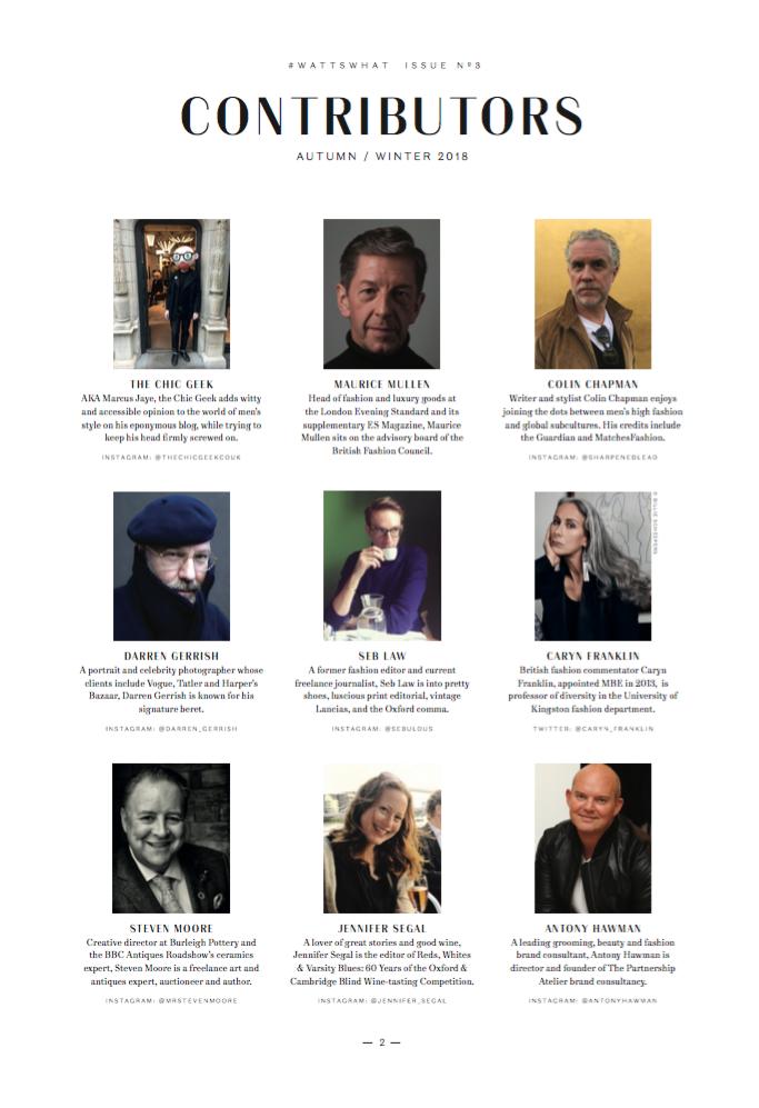 Wattswhat Magazine Contributors
