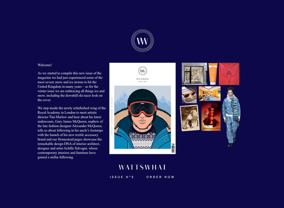 David M Watts, Editor In Chief of Wattswhat Magazine