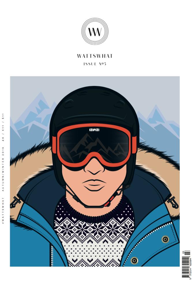 Wattswhat Magazine Cover Issue No. 5