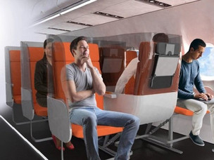 Here Are New Seat Designs That Encourage Social Distancing Onboard