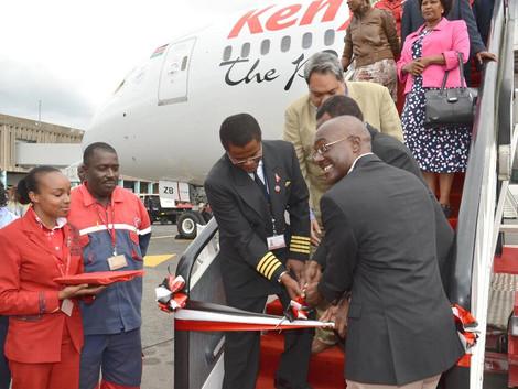 Kenya Airways Receives Second Boeing 787 Dreamliner