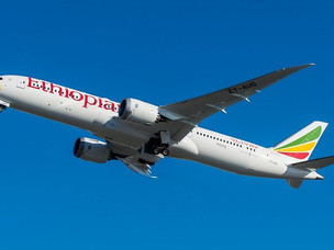 Ethiopian Airlines Goes All Boeing 787 on Johannesburg Route
