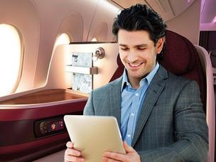 """Qatar Airways Launches Panasonic's New EcoFW 10"""" IFE"""