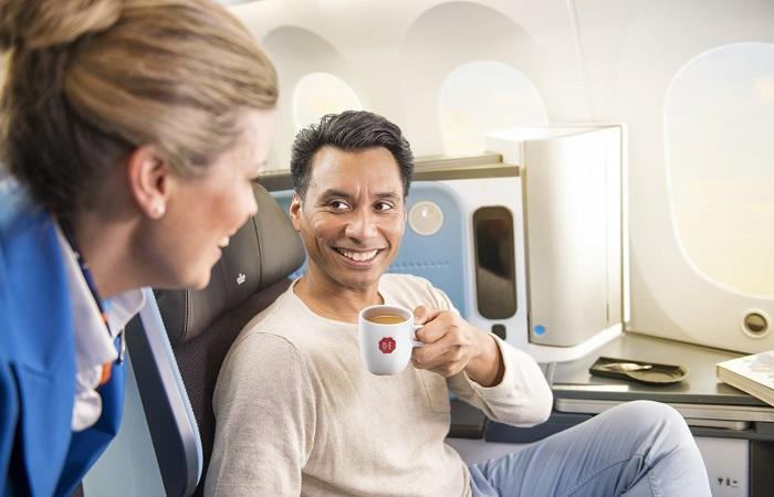 Paxex Klm Brings Douwe Egberts Coffee Onboard The