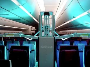 Qatar Airways Steps Up with Honeywell UV Cabin System