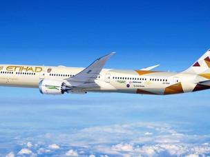 Etihad Airways ecoDemonstrator Aircraft Takes Flight
