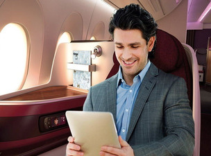 Qatar Airways Rolls Out 100th Aircraft with 'Super Wi-Fi'