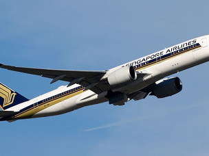 Singapore Airlines Resumes Passenger Flights to South Africa