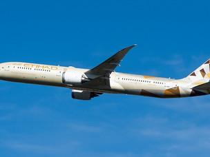 COVID-19: Etihad Provides Updated Information on Flight Operations