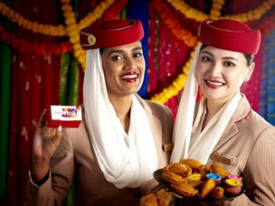Holi: Emirates Brings Festival of Colours and Flavours Onboard