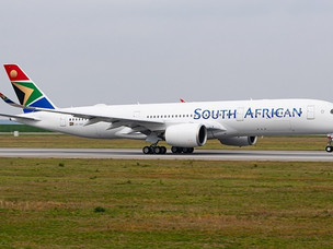 South African Airways Operates First Commercial Airbus A350 Flight