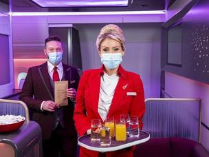 PaxEx: Virgin Atlantic Launches New Spring Menus