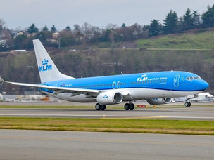 And The Last Production Boeing 737-800NG Goes to KLM