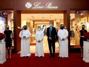 Loro Piana Boutique Arrives at Hamad Airport Doha