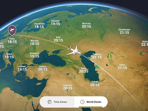 PaxEx: Vistara Launches Panasonic's New 3D In-Flight Map