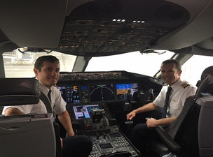Brothers Share United Flight Deck For The First Time