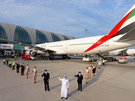 COVID-19: Emirates Operates First Flight with Fully Vaccinated Team