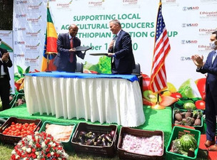 Ethiopian Airlines Partners with USAID For In-Flight Meals