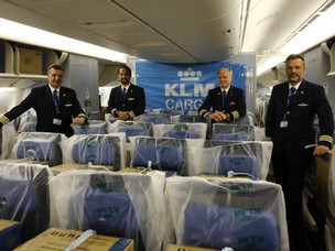 Cargo-in-Cabin: KLM Joins The Race to Maximize Aircraft Space