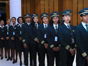 IWD: Ethiopian Airlines Operates All-Women Flight to Washington