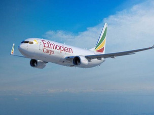 Ethiopian AirlinesTakes Delivery of First Boeing 737-800 Freighter