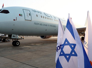 Etihad Makes History with First Passenger Flight to Israel