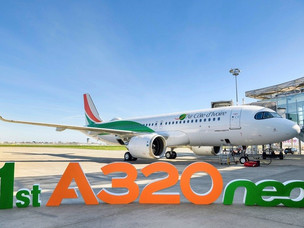 West Africa's First Airbus A320neo Touches Down in Abidjan