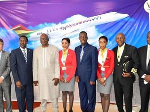 Ghana's Africa World Airlines Begins Flights to Freetown