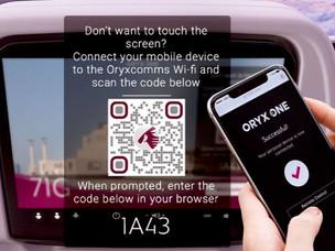 PaxEx: Qatar Airways Set to Launch 100% Touch-Free IFE