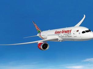 Kenya Airways Revenue Increases as Passenger Numbers Grow