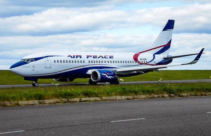 air peace boeing 737-500
