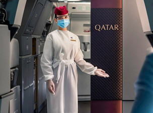 Qatar Airways Achieves COVID-19 Free Air Travel