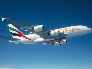 Emirates Flagship Airbus A380 Returns to Brazil