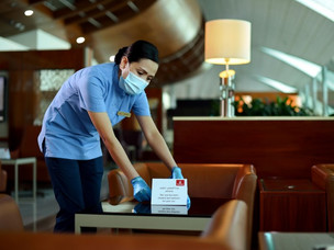 Emirates Re-opens Lounges with Redesigned Service