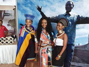 South African Tourism Impresses with 'Effizy' at Accra Weizo